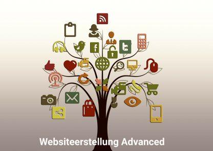 Websiteerstellung Advanced
